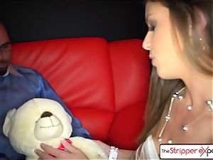 TheStripperExperience- Brooklyn is pulverized by a big penis
