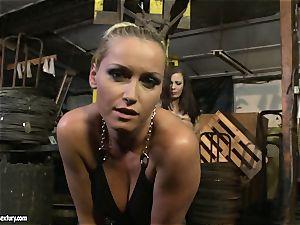 Kathia Nobili cane the tongue of sweetheart girl