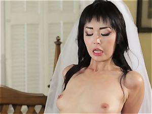 uber-sexy bride Marica Hase ravages her fresh hubby