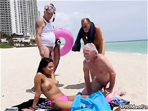 blond gang-bang old first-ever time Staycation with a brazilian hotty