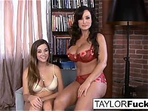 Taylor Vixen's first-ever time with Lisa Ann