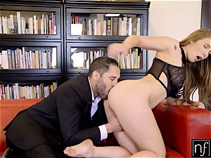 NF big-chested- Lena Paul Surprises Her chief At Home S6:E11