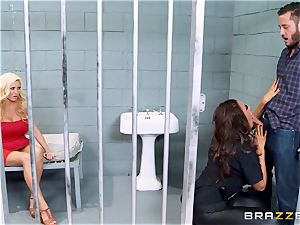 Bad cop Ava Koxxx steals Summer Brielles fellow