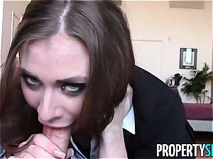 PropertySex Cherrypicking Anya Takes client's virginity