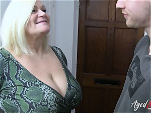 AgedLovE hard-core with red-hot Mature Lacey Starr