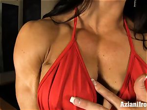 crazy fit nymphs uses faux-cock on immense joy button