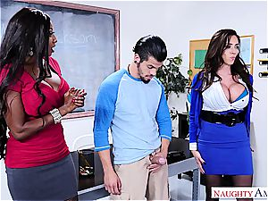 ultra-kinky man porks his schoolteacher and stepmom at college