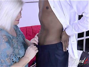 AgedLovE Lacey Starr and black boy hardcore