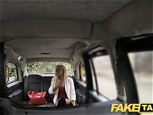 faux taxi thin ash-blonde with diminutive bum gets ass fucking fuckfest