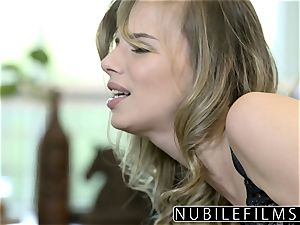 NubileFilms - Office cockslut romped Till She pumps out