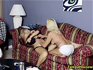 Ms Paris Rose in two kinky femmes with toys