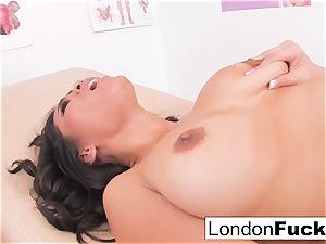 Nurse London and Jessica's sapphic have fun