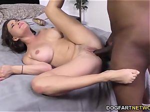 Krissy Lynn Having raunchy interracial rectal orgy