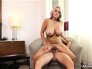 massive fun bags cougar gets buttfuck ravage and facial