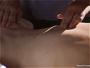 super-sexy Mimi Rogers gets her entire assets groped