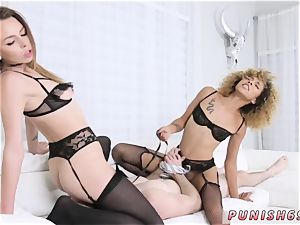 nymph dominance creampie and extraordinary rectal machine gonzo Alex Blake And Xianna Hill in