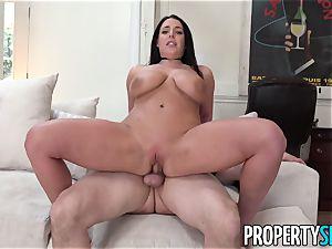 PropertySex buxomy stunner Angela white boinks the Landlord
