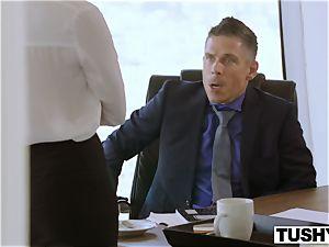 TUSHY Bree Daniels very first ass-fuck fucky-fucky sequence