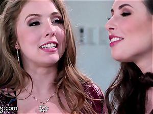 Girlsway babes Lena Paul