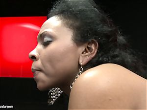 hot Kathia Nobili likes tearing up her playmates pussy firm from behind