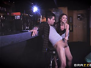Monique Alexander and August Ames get their vulvas drowned with Xanders pink cigar