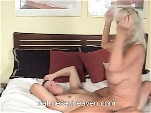 grandma Getting Laid While Her spouse sees