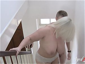 AgedLovE buxomy Lacey Starr xxx and dt