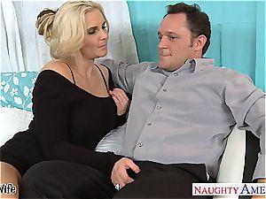 super-hot wifey Phoenix Marie gets rosy labia humped
