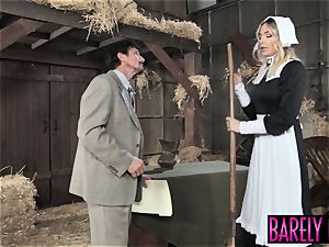 stunner Blair Williams saves the heritage with her pussy