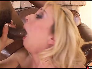 blonde stunner absolutely insatiable for bbc