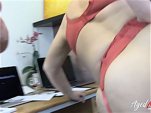 AgedLovE Lacey Starr Eva and Marcus three-way