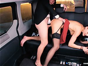 porked IN TRAFFIC - brit Tina Kay drilled in the car