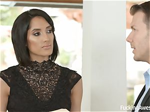 FuckingAwesome Chloe Amour gets humped by MMA fighter
