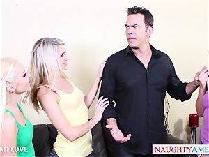 spectacular Aaliyah love pulverizing in fourway
