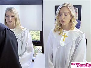 Church babe ravages bro Behind Dads Back! S1:E4