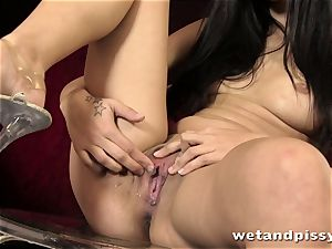 super hot dame pissing in a slow movability compilation