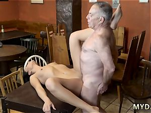 fat elder granny and fellow pound young woman Can you trust your gf leaving her alone with your