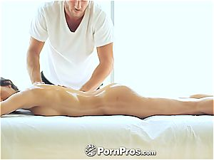 elegant Chloe Amour fumbled and satiated well