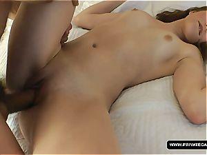 young Nisha gets raunchy anal test run