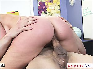 big-chested lovemaking lecturer Veronica Avluv plowing