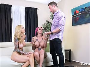 Anna Bell surprises her spouse with Sarah Jessie