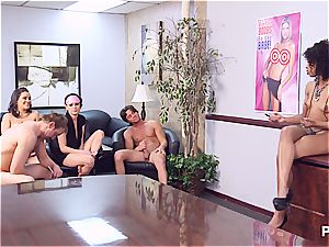 Getting horny in the office part five