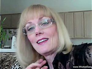 hotwife granny Is Addicted To cum