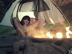 red-hot camping knob cocksucker Whitney Wright
