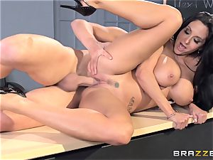 huge-boobed professor Ava Addams is smashed by her student