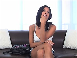 Jade Jantzen penetrating like a professional at her audition