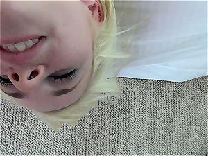 Catie Parker tongue pulverizes Mia Malkova's hot vulva